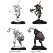 Pathfinder Battles Deep Cuts Unpainted Miniatures - Male Elf Fighter (6 Units)