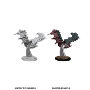 Pathfinder Battles Deep Cuts Unpainted Miniatures - Flying Ray (6 Units)