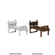 WizKids Deep Cuts Miniatures: Torture Rack (6 Units)