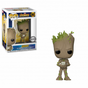 Funko POP! Avengers Infinity War: Teen Groot w/ Video Game Vinyl Figure 10cm
