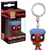 Funko POP! Keychain Deadpool Bathtime Vinyl Figure 4cm