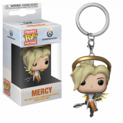 Funko POP! Keychain: Overwatch - Mercy Vinyl Figure 4cm