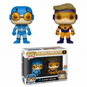 Funko POP! DC - Blue Beetle & Booster Gold 2-Pack Vinyl Figures 10cm Limited
