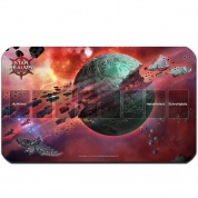 Blackfire Playmat - Star Realms Todeswelt - Ultrafine 2mm (DE)