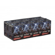 D&D Icons of the Realms - Monster Menagerie: Case of 4 Booster Bricks (8 ct.) with Case Incentive - EN