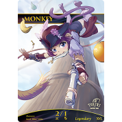 Tokens for MTG - 2/1 Monkey Token (10 pcs)