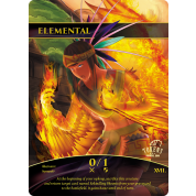 Tokens for MTG - 0/1 Elemental Token (10 pcs)