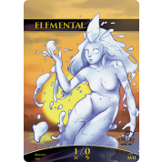 Tokens for MTG - 1/0 Elemental Token (10 pcs)