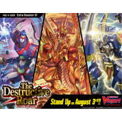 Cardfight!! Vanguard V - The Destructive Roar Booster Display (12 Packs) - EN