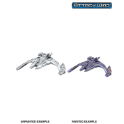Star Trek Deep Cuts: Jem'Hadar Battle Cruiser (6 Units)