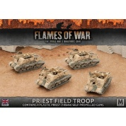 Flames of War: Priest Field Troop (Plastic)