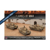 Flames of War: Churchill Armoured Troop (Plastic)