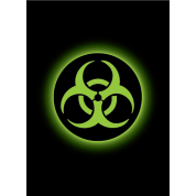 Legion - Matte Sleeves - Absolute Iconic - Biohazard (50 Sleeves)
