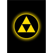 Legion - Matte Sleeves - Absolute Iconic - TriForce (50 Sleeves)