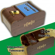 Blackfire Wooden Deck Box - Commander