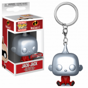 Funko POP! Keychain: Disney: The Incredibles 2: Metallic Jack-Jack - Vinyl Figure 4cm