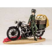 Kino's Journey: the Beautiful World ARTFX J Kino [Special First Edition] 1/10 PVC Statue 19cm