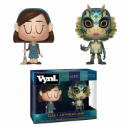 Funko VYNL 2-Pack Shape of Water - Elisa & Amphibian Man Vinyl Figures 10cm