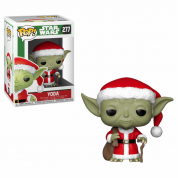 Funko POP! Star Wars: Holiday Santa Yoda Vinyl Figure 10cm