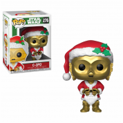 Funko POP! Star Wars: Holiday Santa C-3PO Vinyl Figure 10cm