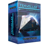 Traveller CCG Ship Deck Type S Scout - EN