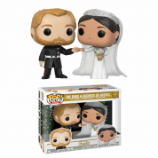 Funko POP! Royal W2 – Duke & Duchess Sussex 2-pack Vinyl Figures 10cm