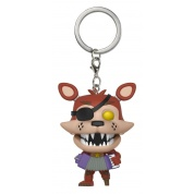 Pocket POP! Keychain: FNAF Pizza Sim - Rockstar Foxy Vinyl Figure 4cm