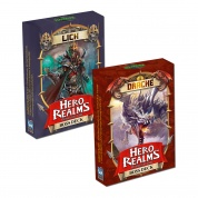 Hero Realms - Boss-Decks Drache/Lich Display - DE