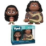 Funko Vynl. - Moana – Maui and Moana 2-Pack Action Figures 10cm