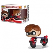 Funko POP! Rides - Incredibles 2 - Elastigirl on Elasticycle Vinyl Figure 12cm