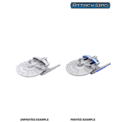 Star Trek: Attack Wing Deep Cuts Unpainted Miniatures - Miranda Class (6 Units)