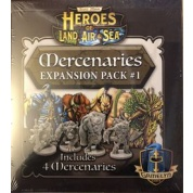 Heroes of Land, Air & Sea: Mercanary Pack 1 - EN