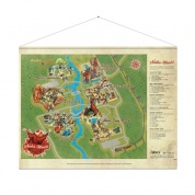Fallout Wallscroll Nuka World Map
