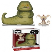 Funko Vynl. - Star Wars - Jabba & Salacious Crumb 2-Pack Action Figures 10cm