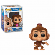 Funko POP! Aladdin: Abu (Flocked) Vinyl Figure 10cm Limited