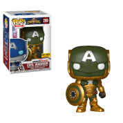 Funko POP! Marvel Contest of Champions: Civil Warrior Green Vinyl Figure 10cm Limited
