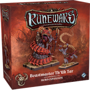 FFG - RuneWars: The Miniatures Game - Beastmaster Th'Uk Tar Hero Expansion - EN