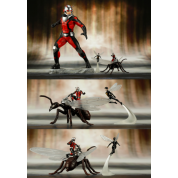 Marvel Universe - Marvel Comics Avengers Series Astonishing Antman & Wasp ARTFX+ 1/10 PVC Statue 19cm