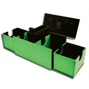 Legion - Deckbox - Vault V2 Dragon Hide Green