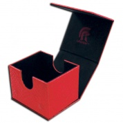 Legion - Deckbox - Hoard V2 Dragon Hide Red