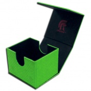 Legion - Deckbox - Hoard V2 Dragon Hide Green