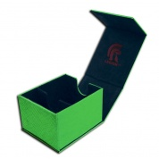Legion - Deckbox - Hoard Plus Dragon Hide Green