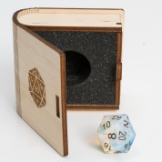 Blackfire Gemstone Collectors Dice - Opalite
