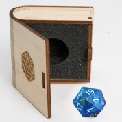 Blackfire Gemstone Collectors Dice - Lapislazuli