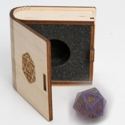 Blackfire Gemstone Collectors Dice - Amethyst