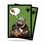 UP - Standard Deck Protector - Chibi Collection Garruk - I'm Starving! for Magic (100 Sleeves)