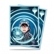 UP - Standard Deck Protector - Chibi Collection Jace - Mystic for Magic (100 Sleeves)