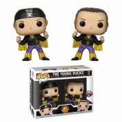 Funko POP! 2-Pack: WWE: Bullet Club Young Bucks Vinyl Figures 10cm Limited