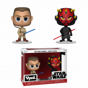 Funko VYNL 2-Pack: Star Wars - Darth Maul & Obi Wan Vinyl Figures 10cm