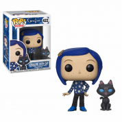 Funko POP! Coraline: Coraline with Cat Buddy Vinyl Figure 10cm